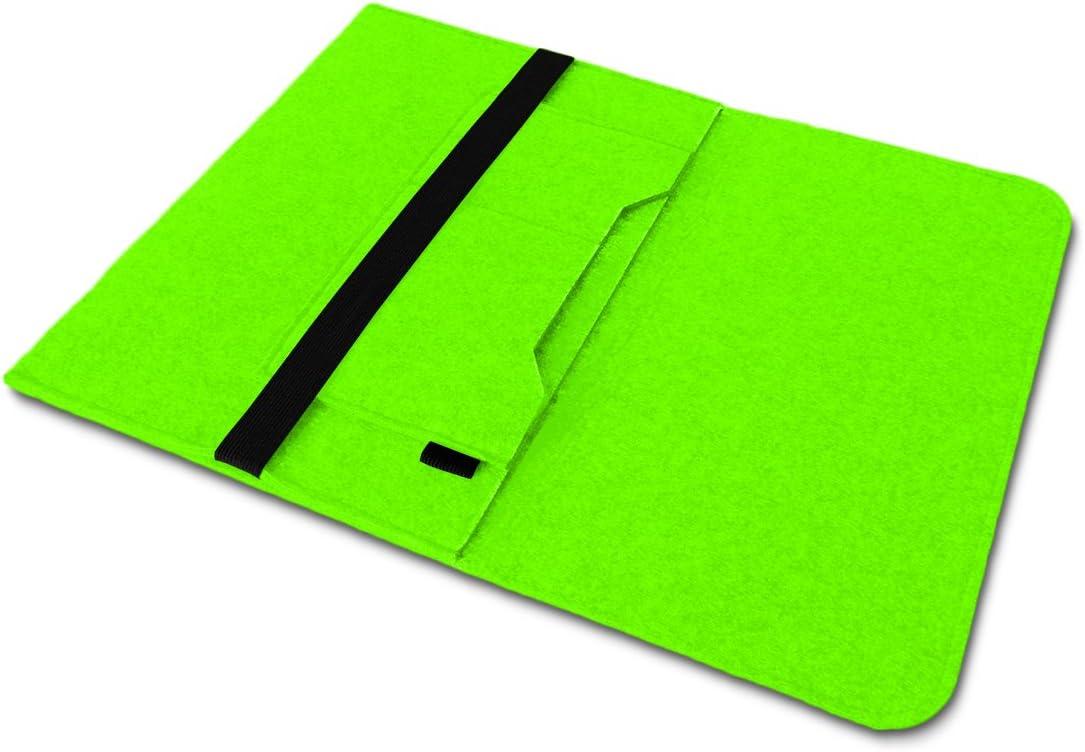 Housse de protection en feutre pour Microsoft Surface Book 2-13,5 Nauc Avec poches int/érieures et fermeture s/écuris/ée