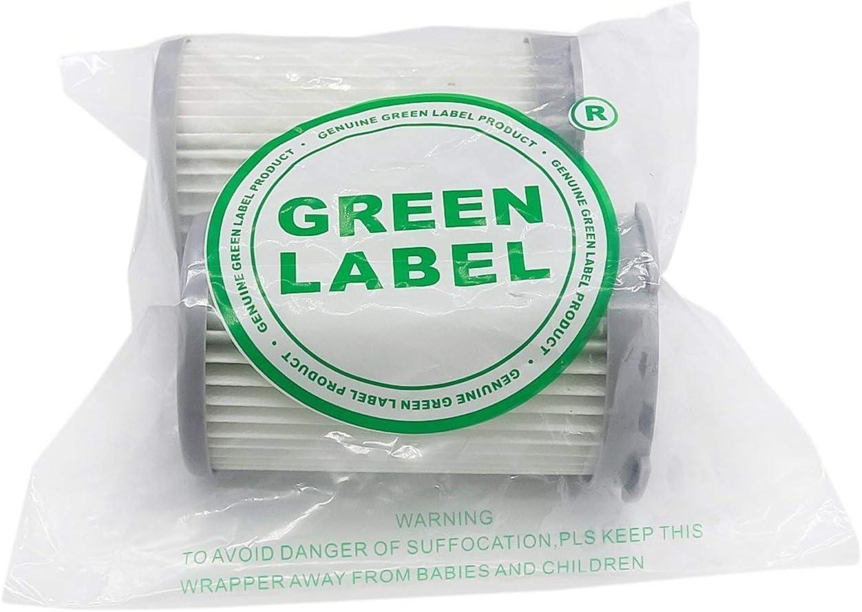 Green Label Empaque de 2 Filtro HEPA para Aspiradoras AEG Minion ATI7600-7699. Reemplaza a EF75B, AEF75B, F120