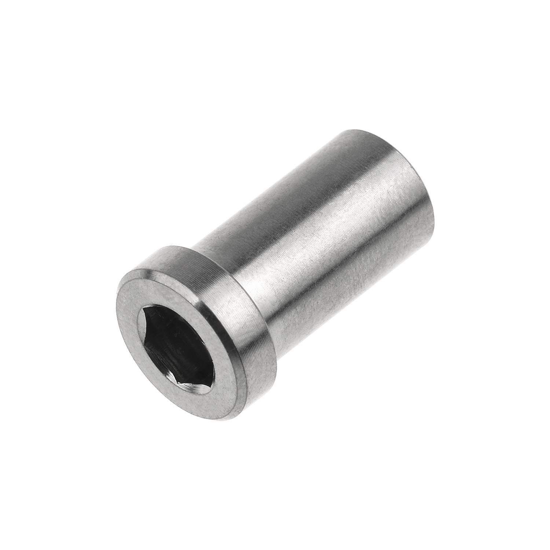 13mm, Titanium Yaruijia Bicycle Titanium Ti Recessed Bike Brake Bolt Nut 13//15//17//23mm