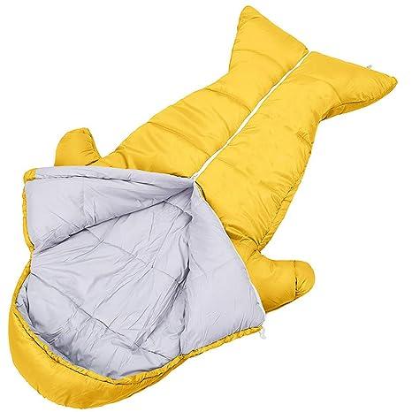 GKPLY Saco De Dormir para Niños Four Seasons Outdoor Thickening Warm Indoor Anti-Kicking Estudiante