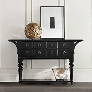 Hooker Furniture Ashton Hall Console in Black