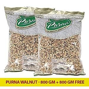 Purna Walnut - 800 gm + (Pack of 2)