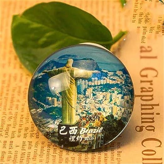 Weekinglo Souvenir Cristo Río Brasil Imán de Nevera Imán ...