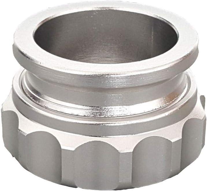 PTNHZ 1 25.4mm Aluminum Alloy Weld Billet On Filler Neck Cap Oil Fuel Water Tank Black