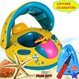Baby Pool Float with Sun Canopy Shade, Inflatable - Best Reviews Guide