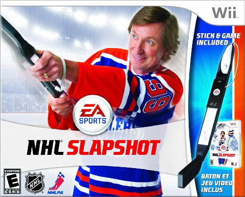 NHL Slapshot Bundle - Nintendo Wii by Electronic Arts
