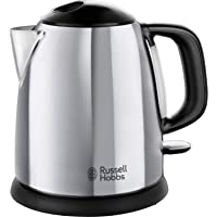 Russell Hobbs 24990 Small Electric Kettle 1 Litre Fast Boil Cordless, Compact, 2400 W