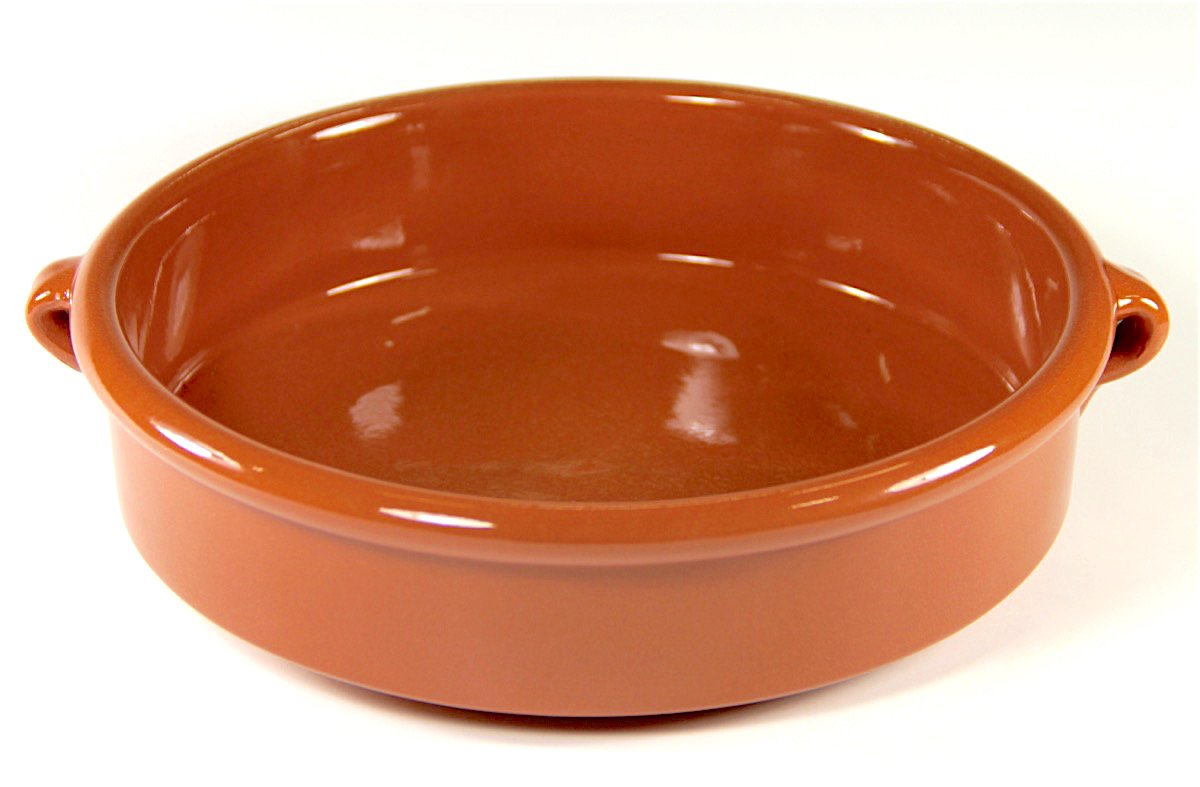 Peregrino Terra Cotta Cazuela Dish, Round - 9.5 inch/6 cups