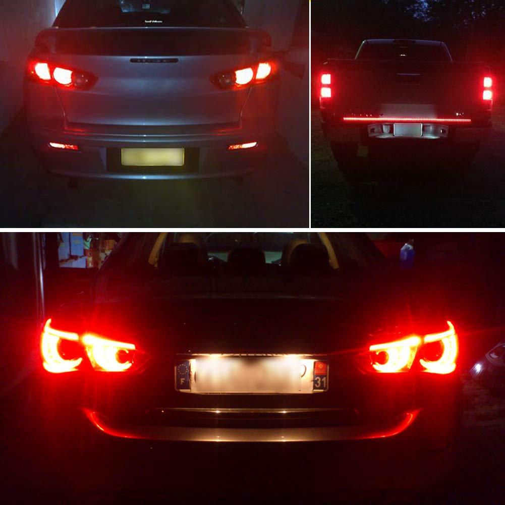 CIIHON 1156 1141 7506 LED Bulb Red Lights BA15S P21W for Brake ...
