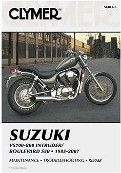 Clymer Repair Manual for Suzuki VS700 VS750 VS800 85-07