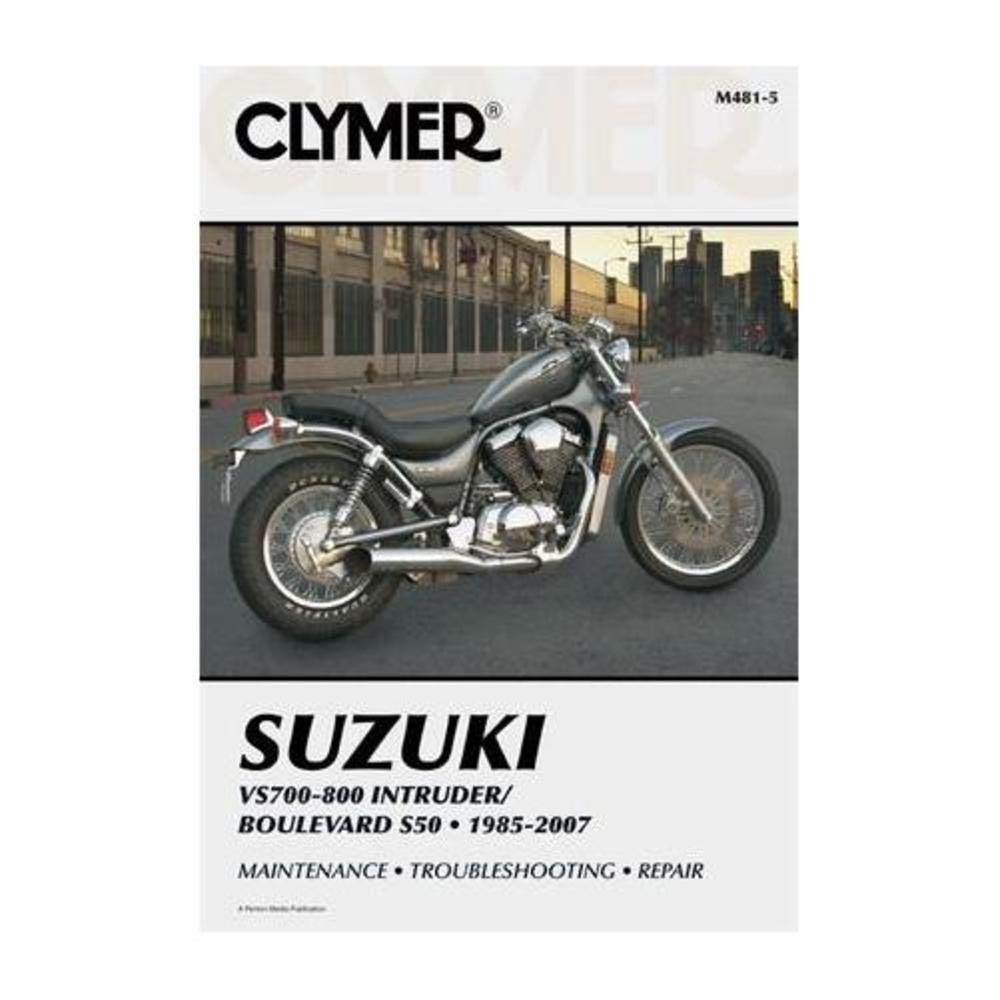 Amazon.com: Clymer Repair Manual for Suzuki VS700 VS750 VS800 85-07:  Automotive