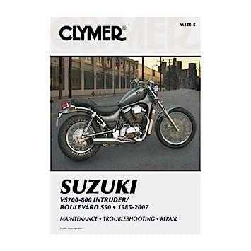 Amazon Clymer Repair Manual For Suzuki Vs700 Vs750 Vs800 8507. Clymer Repair Manual For Suzuki Vs700 Vs750 Vs800 8507. Suzuki. 2004 Suzuki 800 Intruder Wiring Diagram At Scoala.co