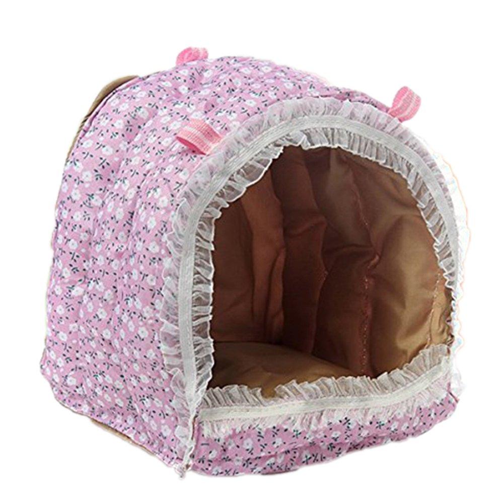 GogoForward Hammock for Rat/Parrot/Rabbit/Guinea Pig/Ferret Hanging Bed Toy House Cage S-L(Large)