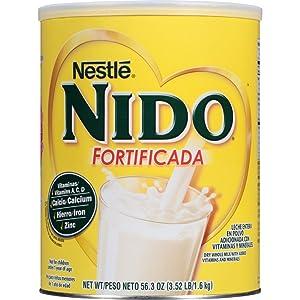 NESTLE NIDO Fortificada Dry Milk 56.3 oz. Canister