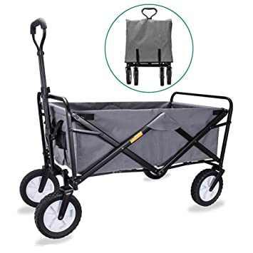 Amazon.com: Carrito de transporte plegable multiusos XL ...