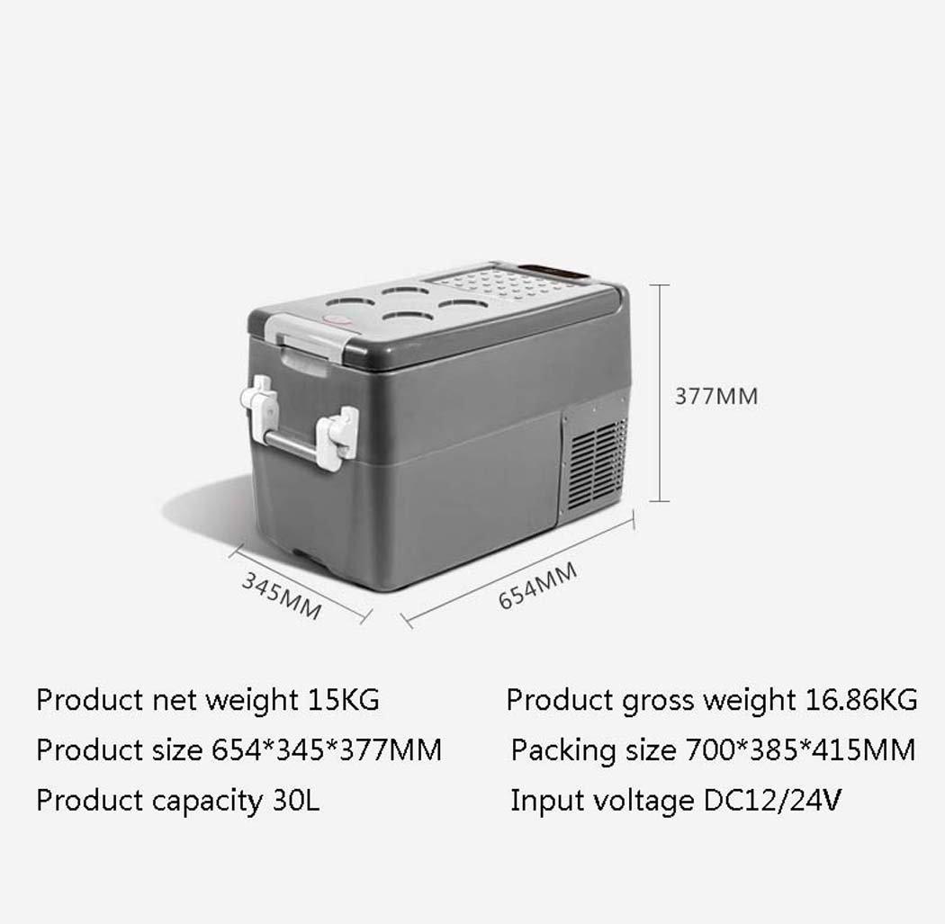DSHBB Mini Refrigerador del Coche, Compresor Portátil De 30 litros ...