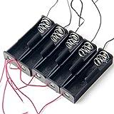5pcs 1×18650 電池 バッテリー クリップ ホルダー バッテリー ケース バッテリー ボックス