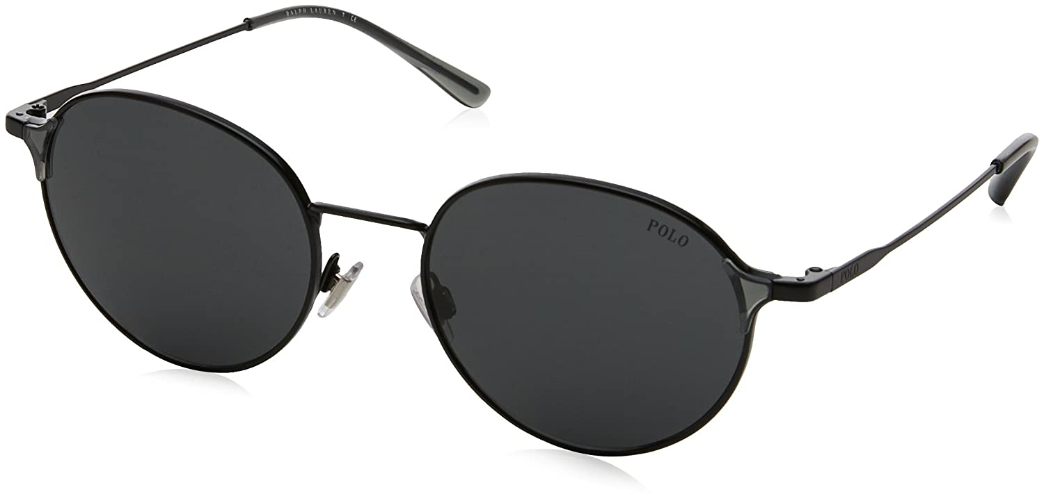 Ralph Lauren POLO 0PH3109 Gafas de sol, Demi Shiny Black, 53 ...