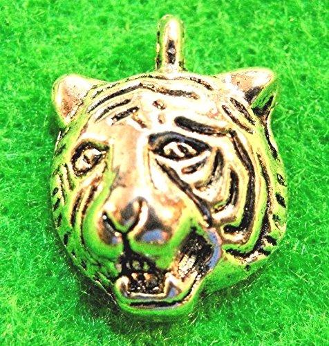 tiger head earrings - 9