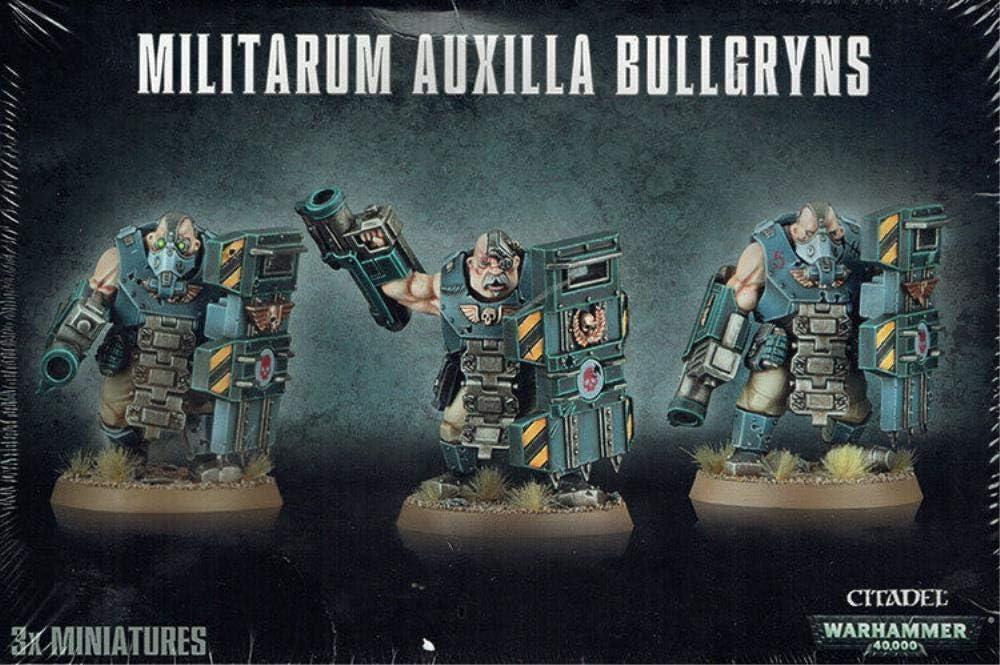 Citadel Astra Militarum Auxilla Bullgryns Warhammer 40,000