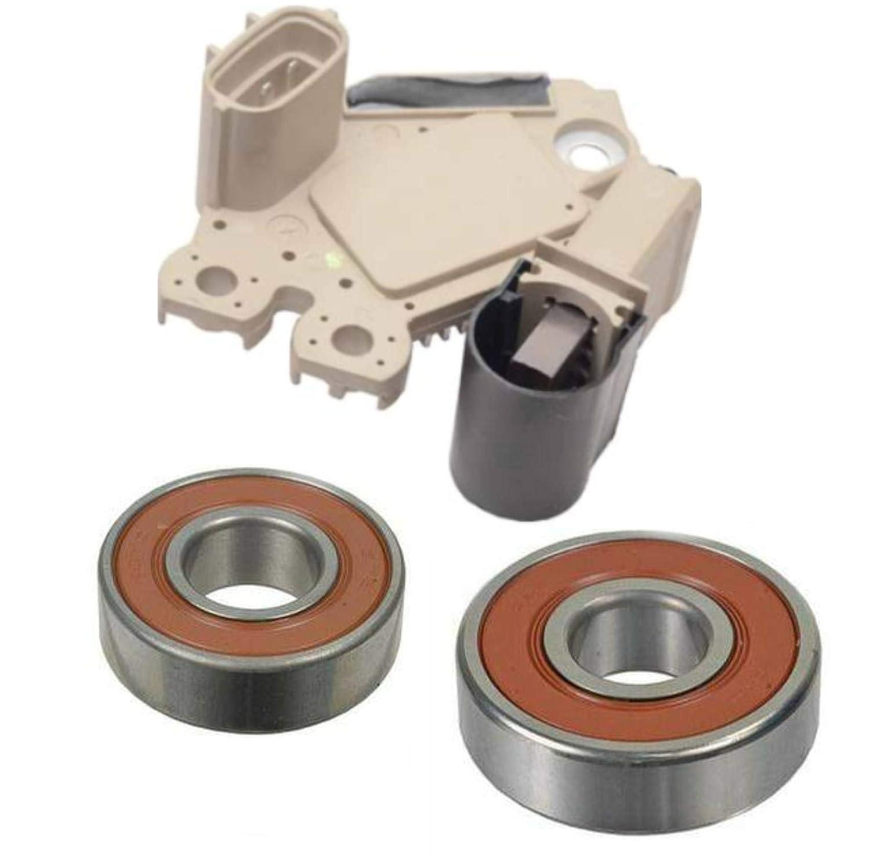 Alternator Rebuild Kit for 2007-2009 Spectra Elantra, 2010-2011 Soul Voltage Regulator, Brushes & Bearings - 11311RK ManiacEM