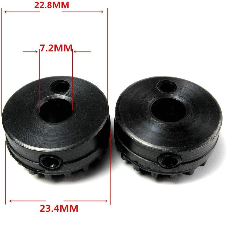 900 1030 2000 Class Touch /& Sew and Others 2 Pcs Rotary Hook Drive Gear # 163329 for Singer 600 700