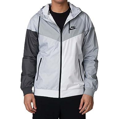 Nike Hommes Capuchon Windrunner Veste De Piste