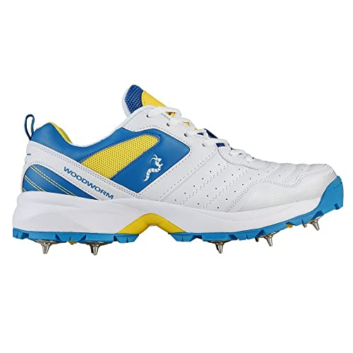 a51490edff2 Woodworm IB Select Cricket Shoes with Spikes  Amazon.co.uk  Shoes   Bags