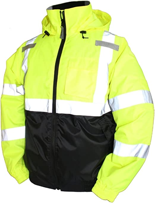 Small Tingley Rubber J26112 Class 3 Bomber II Jacket Lime Green
