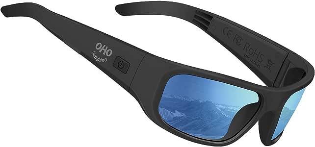 Open Ear Style Listen Music and Calls Bluetooth 5.0 Version Wireless OhO Audio Sunglasses