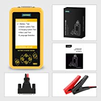 Launch AUTOOL BT-460 Lead-Acid AGM Gel Cell 4'' TFT Colorful Display Auto Testers Car Battery Analyzer Suppor 12V…