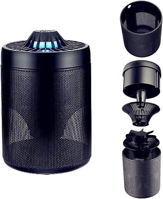 RIsxffp Aspirador de Mosquitos inofensivo para Interiores USB LED ...