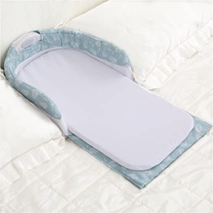 Amazon.com : Aik@ Portable Foldable Cribs Co-Sleeping ...