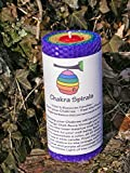 Chakra Spirals - 100% Beeswax Pillar Candle - 5.5'' Pillars , Yoga Meditation Candle ,Rainbow of Light - Color alignment candle - Yoga candle