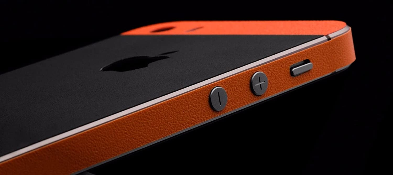 08fb674daf5 GADGETS WRAP Apple iPhone 5s/SE Orange Matte Black: Amazon.in: Electronics