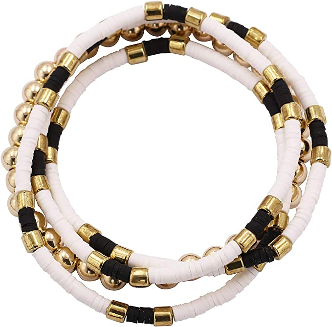 Ball Bead Bracelet 14K Gold Plated Over 925 Sterling Silver Women Adjustable Minimalist Diamond Cut Beaded Bracelet