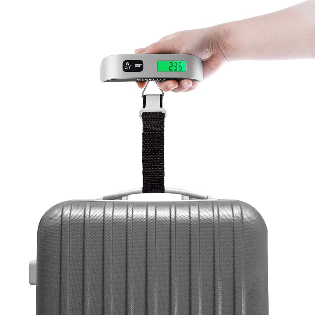 sommerferien 2019 Digitale kofferwaage für flüge Suitcase Bag und ab in den Urlaub Reisetasche Reise Gadgets messung Reisen Koffer und Strand travel Bag auch als fischen zubehör messen von Fisch