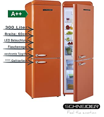 Schneider SL300 o CB a + + Retro Diseño nevera y congelador ...