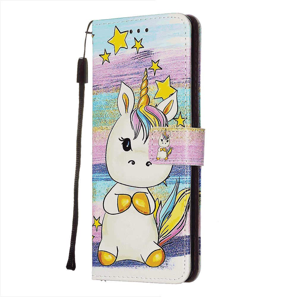 PU Leather Flip Cover Compatible with iPhone X Elegant Cozy Wallet Case for iPhone X