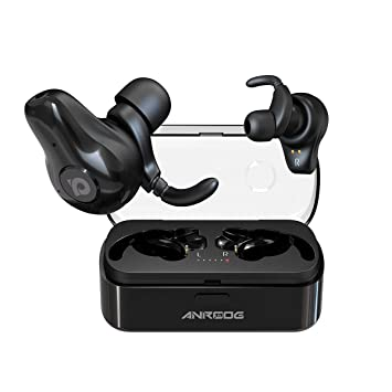 Wireless Earbuds,ANROOG A10 Bluetooth 5 0 Noise Canceling Earbuds W  Charging Case&Extra Long Playtime 40Hrs,Truly Wireless Surround Sound  Headphones