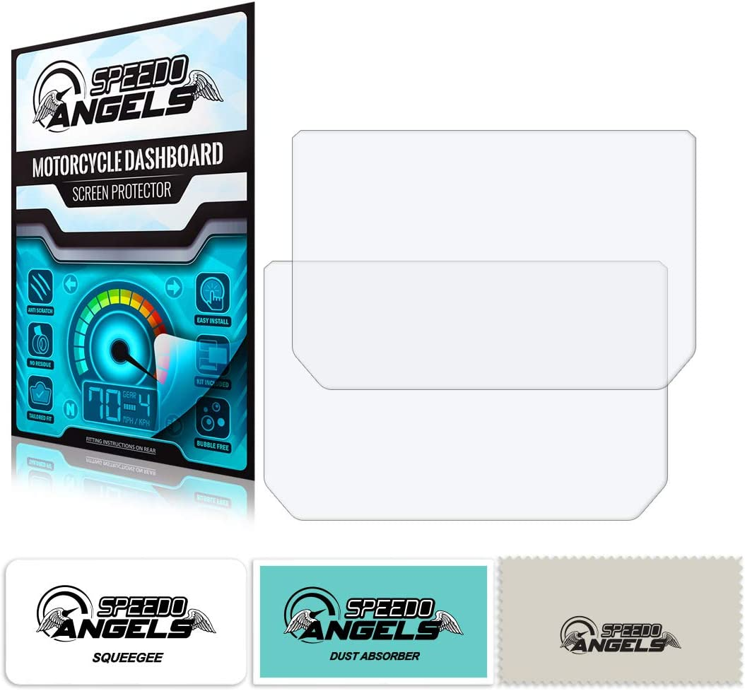 Speedo Angels Sakt9311 Dashboard Screen Protector for KTM 1290 Super Adventure R//S 2017+ 1 x Ultra Clear /& 1 x Anti Glare
