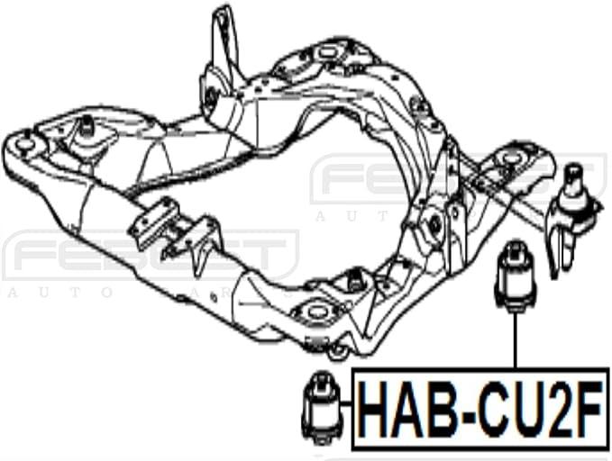 50260Ta0A01 Body Bushing For Honda