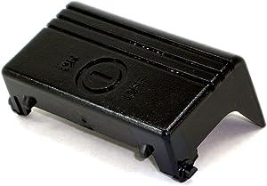 Hoover 38422184 Vacuum On/Off Switch Pedal (Gloss Black) Genuine Original Equipment Manufacturer (OEM) Part Gloss Black