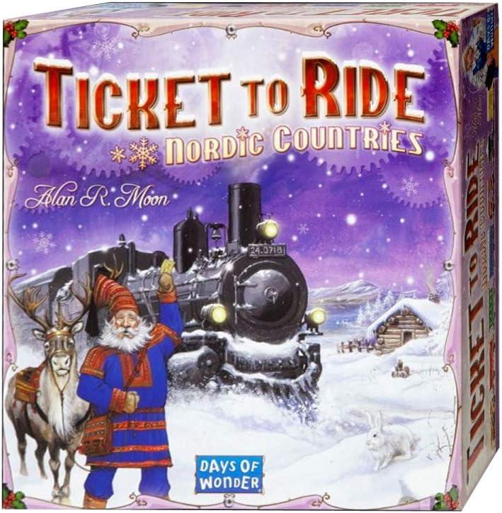 Days of Wonder Ticket To Ride Nordic - Juego de Mesa: Amazon.es ...