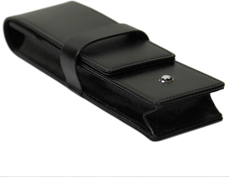Montblanc Leather 14311 - Funda para bolíigrafo, color negro: Amazon.es: Oficina y papelería
