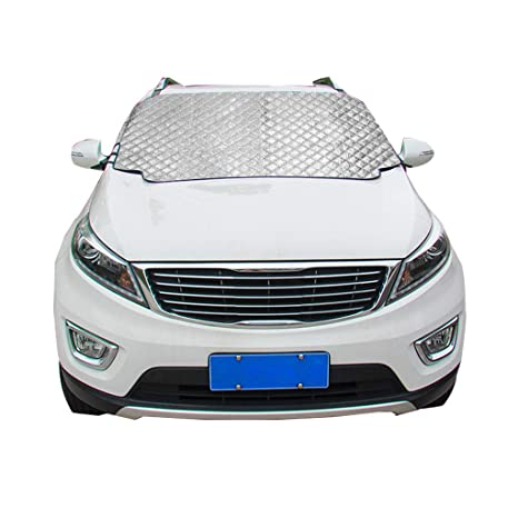 Cubierta del Parabrisas del automóvil, Nieve magnética Helada Protección del Hielo Láminas Limpiaparabrisas Cubierta para