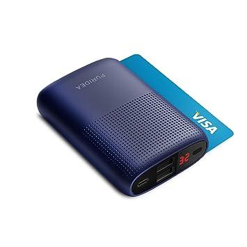 Bateria Externa para Movil, PURIDEA 10000 mAh Power Bank Cargadore Portátiles Carga(Batería del