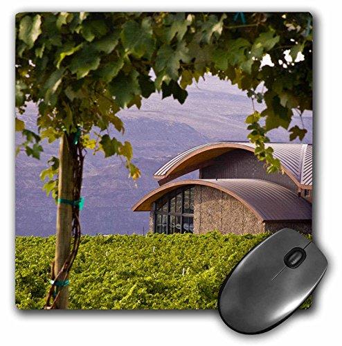 3dRose LLC 8 x 8 x 0.25 Inches Mouse Pad, Washington, Quincy, Cave B Inn Winery, Vineyard, Jaynes Gallery (mp_95135_1)