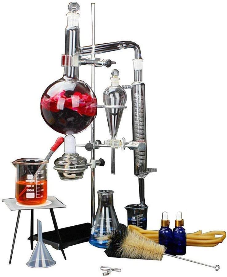 Laboratorio Profesional Equipo de equipo de vidrio químico ...