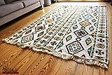 Carpet 135x200 cm,4,5'x6,5' , Oriental Carpet Kilim Rug Kelim /Floor Mat,Tapestry wall hanging ,Floor runner, Area Rug, Rugs,Teppich,Läufer,Tapis,Tapiz,alfombra S 1-4-43
